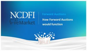Forward Auctions How Forward Auctions would function Auction