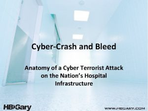 CyberCrash and Bleed Anatomy of a Cyber Terrorist