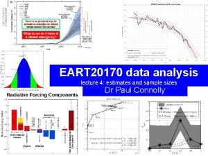 EART 20170 data analysis lecture 4 estimates and