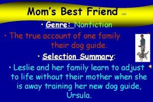 Moms Best Friend 365 O Genre Nonfiction The