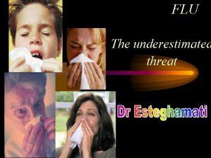 FLU The underestimated threat Influenza Virus Types Type
