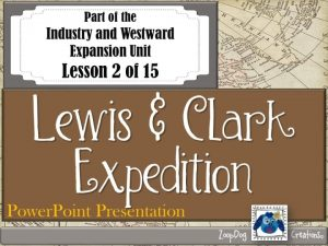 VOCABULARY Meriwether Lewis William Clark Corps of Discovery