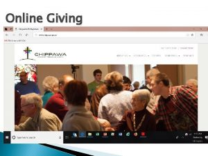 Online Giving Online Giving Online Giving Canadahelps Basic