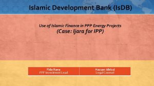 Islamic Development Bank Is DB Use of Islamic