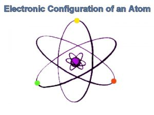 Electronic Configuration of an Atom Electronic Configuration of