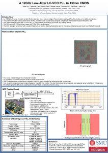 A 12 GHz LowJitter LCVCO PLL in 130