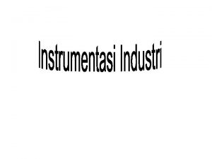 Instrument Parameters The accuracy of an instrument or