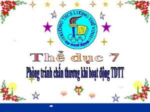 PHNG TRNH CHN THNG TRONG HOT NG TDTT