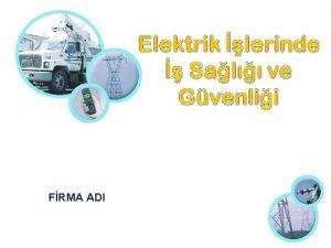 FRMA ADI Elektrik Nedir Elektrik enerjisini oluturan akm