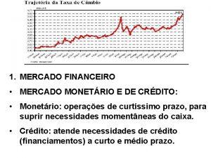 1 MERCADO FINANCEIRO MERCADO MONETRIO E DE CRDITO