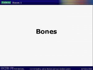 Bones 1 Bones FOR EDEXCEL 1 2 5