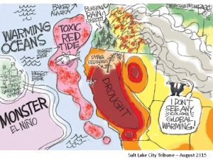 Salt Lake City Tribune August 2015 The Future