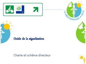 Guide de la signalisation Charte et schma directeur