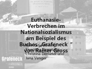 Euthanasie Verbrechen im Nationalsozialismus am Beispiel des Buches