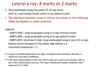 Lateral xray 4 marks vs 2 marks Test