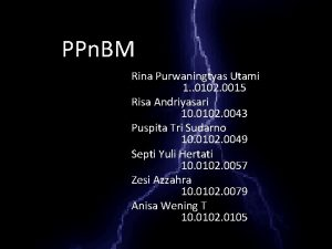 PPn BM Rina Purwaningtyas Utami 1 0102 0015