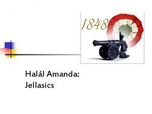 Hall Amanda Jellasics Jellasics Jzsef 1801 1859 n