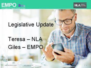 Legislative Update Teresa NLA Giles EMPO www landlords