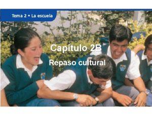Captulo 2 B Repaso cultural Sor Juana Ins
