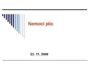 Nemoci plic 23 11 2006 Respiran systm patofyziologie