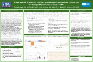 A team approach to preventing healthcare acquired Central
