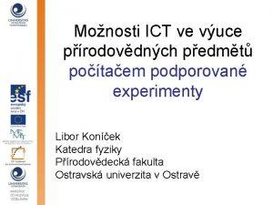 Monosti ICT ve vuce prodovdnch pedmt potaem podporovan
