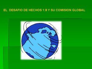 EL DESAFIO DE HECHOS 1 8 Y SU