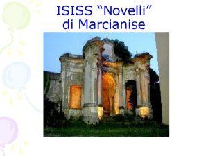 ISISS Novelli di Marcianise Quadro orario delle assenze