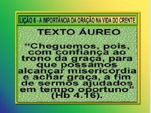 Leitura Bblica em Classe Filipenses 4 4 9