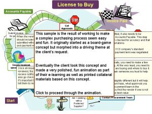 License to Buy Accounts Payable Invoice Paid Get