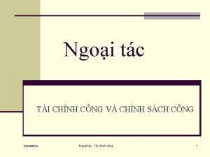 Ngoi tc TI CHNH CNG V CHNH SCH