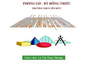 PHNG GD T NG TRIU TRNG THCS YN