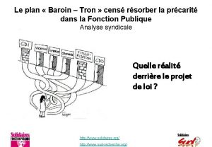 Le plan Baroin Tron cens rsorber la prcarit