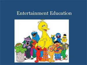 Entertainment Education Take Away Points Vocab Education Entertainment