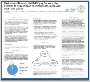 Mediation of Nonsuicidal SelfInjury frequency by aversion to