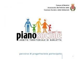 1 PIANO SOCIALE DI ZONA 2010 2012 AMBITO