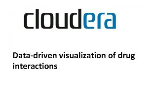 Datadriven visualization of drug interactions Adverse Drug Events