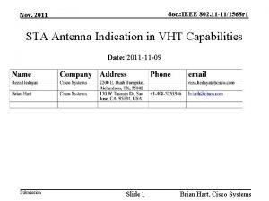 doc IEEE 802 11 111568 r 1 Nov