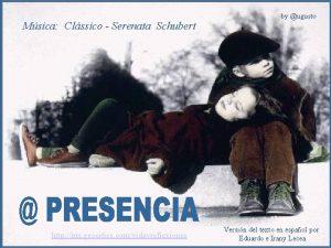 Msica Clssico Serenata Schubert http mx geocities comvidayreflexiones