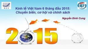 Kinh t Vit Nam 6 thng u 2015