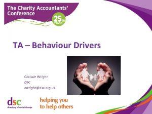 TA Behaviour Drivers Chrissie Wright DSC cwrightdsc org