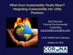 What Does Sustainability Really Mean Integrating Sustainability into