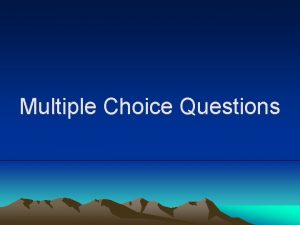 Multiple Choice Questions The natural pacemaker in the