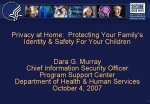 Privacy at Home Protecting Your Familys Identity Safety