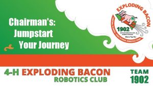 Chairmans Jumpstart Your Journey This presentation contains information