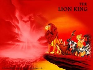 The Lion King Modeled on Hamlet How would