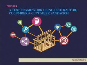 Panacea A TEST FRAMEWORK USING PROTRACTOR CUCUMBER CUCUMBER