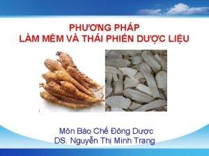 PHNG PHP LM MM V THI PHIN DC