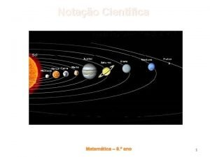 Notao Cientfica Matemtica 8 ano 1 Notao Cientfica