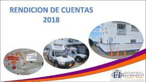 RENDICION DE CUENTAS 2018 AREA CALIDAD SISTEMA INTEGRADO
